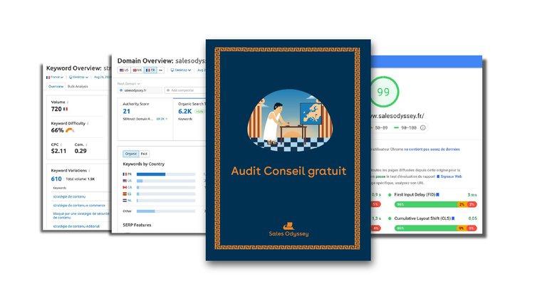 Audit Stratégie de contenu