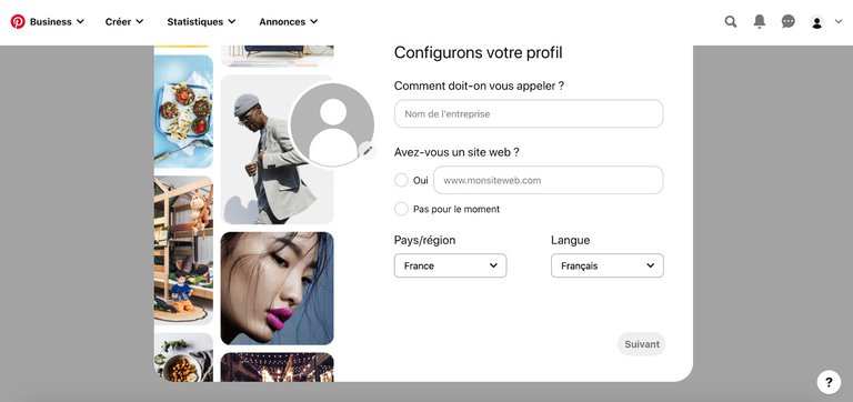 Etape 5 Configurez Le Profil