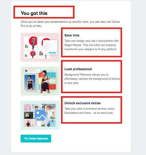 Exemple méthode AIDA - emailing