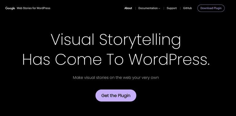 Plug-in wordpress de création de web story