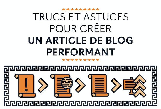 Truc & Astuces pour rediger un article de blog efficace