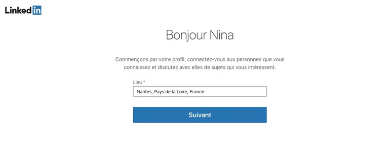 créer son profil linkedin
